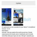 Sony Info Eye 1.8.12 app update rolling – Improved Stability