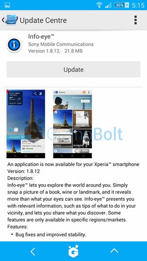 Info Eye 1.8.12 app