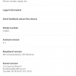 Sony Z Ultra C6806 GPE Android 5.1 Lollipop LMY47D update rolling