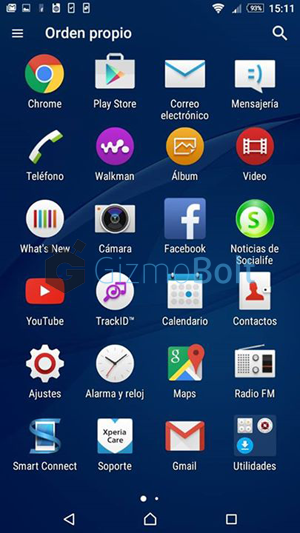 Xperia C3 19.3.A.0.470 Home Launcher