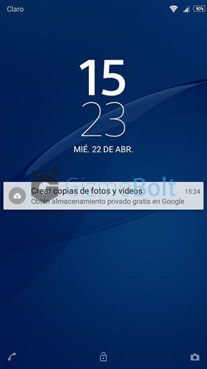 Xperia C3 Lollipop 19.3.A.0.470  Lockscreen