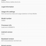 Xperia Z Ultra 14.5.A.0.242 Android 5.0.2 Lollipop rolling