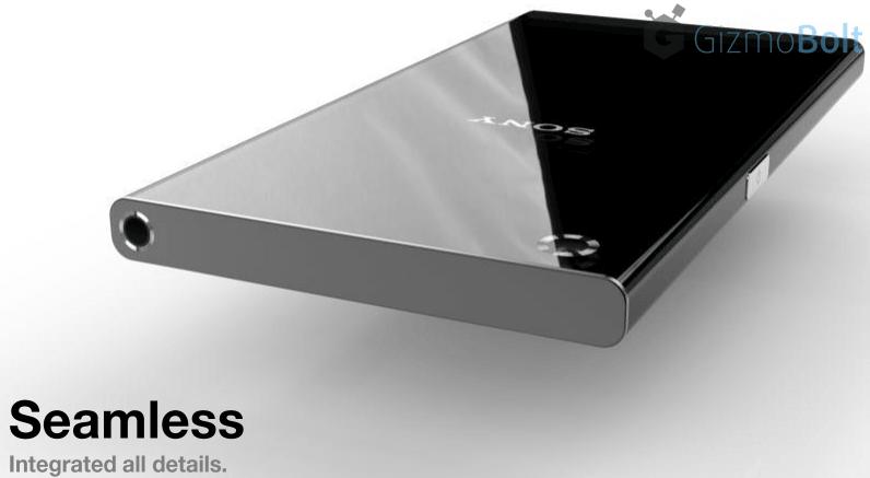 Xperia Z4 Seamless metal frame