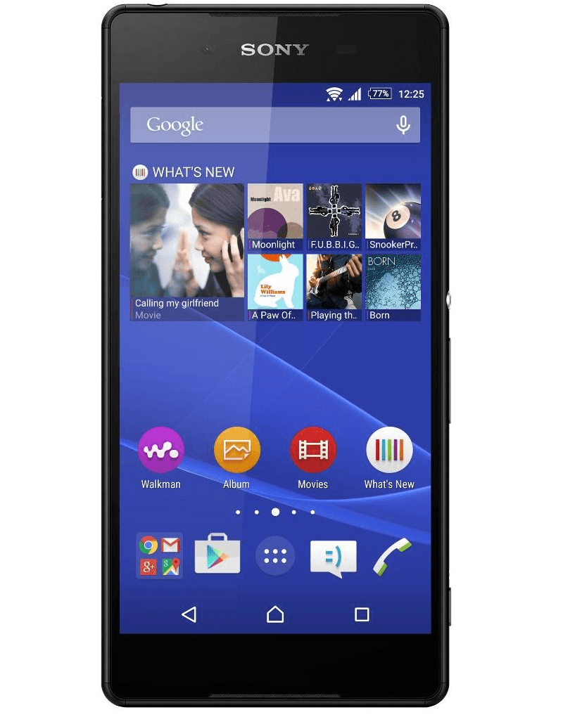 Xperia Z4 pic leaked in Black