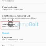 Xperia Lockscreen disabled by administrator error fix after Lollipop update