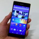 Xperia Z4 hands on pics officially