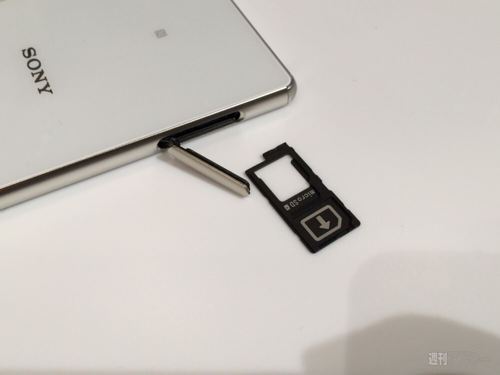 Xperia Z4 SD Card slot