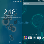 Install Xperia Lollipop Concentric Blue, Dark Night & NR theme