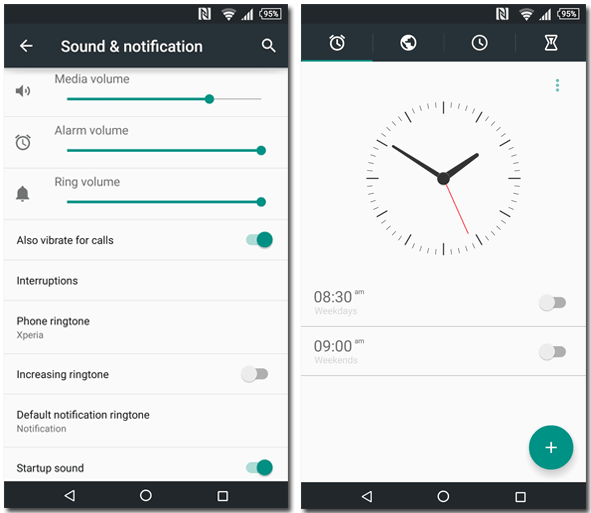 Xperia Lollipop Theme with stock soft keys