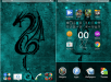 Xperia Lollipop Dragon Teal Theme