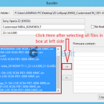 How to download Lollipop firmware via XperiFirm Tool?