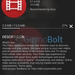 Sony Videos 9.1.A.0.8 app update rolling