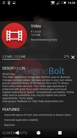 Videos 9.1.A.0.8 apk