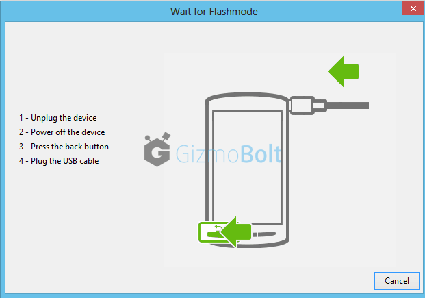 How to connect Xperia Z2 in flashmode