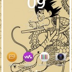 Install Xperia Young Goku & Snow Leopard Lollipop theme