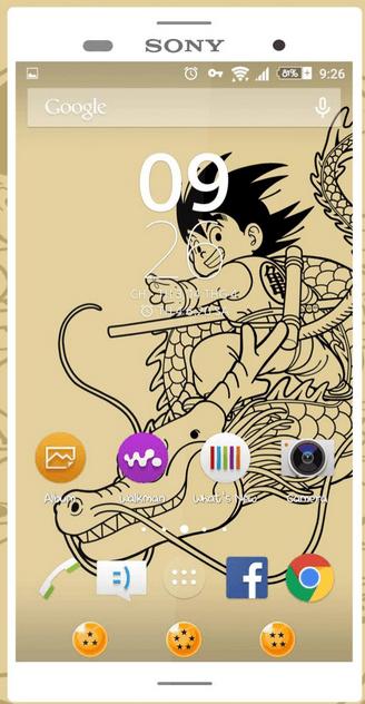 Xperia Young Goku