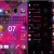 Xperia Lollipop Pattern Pink Theme