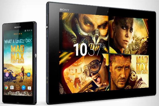 Download Xperia Mad Max Theme