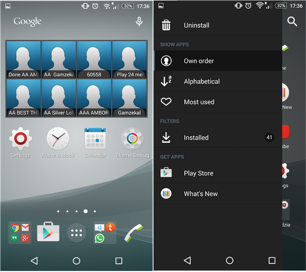 Xperia Z3 Plus White Theme