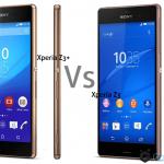 Sony Xperia Z3+ vs Xperia Z3 Design Comparison Video