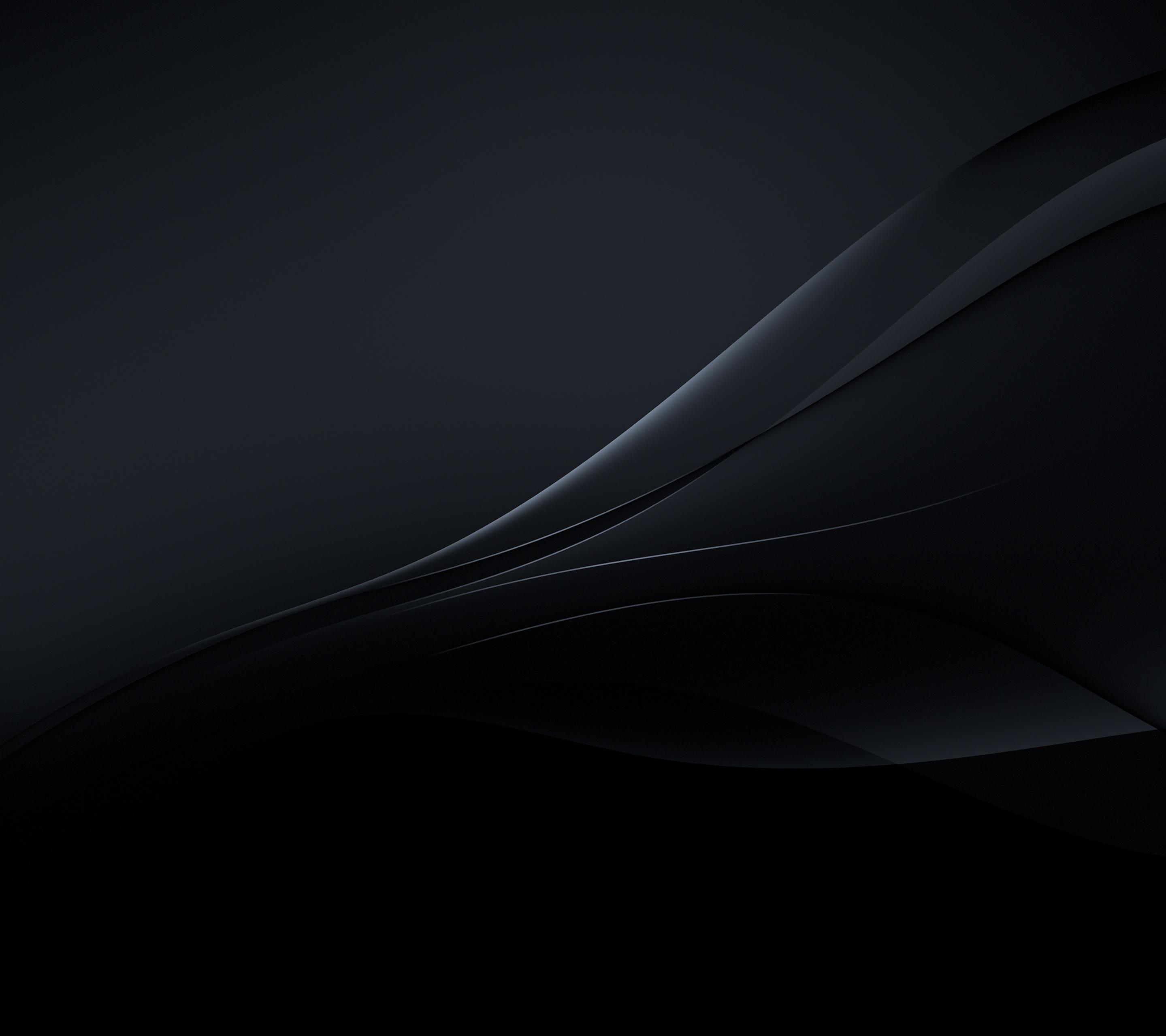 Xperia Z4 Wallpaper in Black color