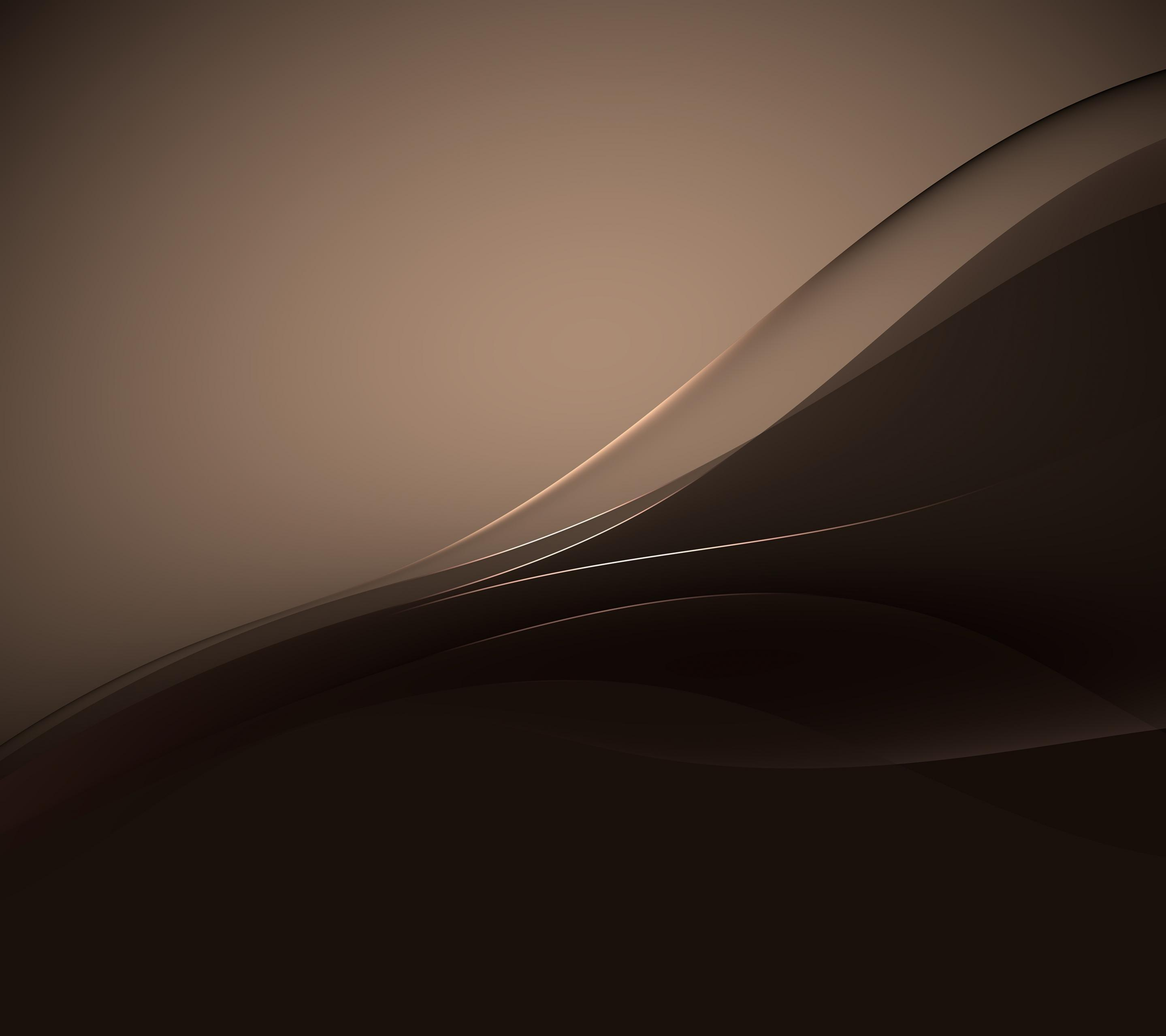 Xperia Z4 Wallpaper in Copper Color