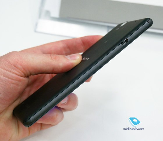 Xperia C4 micro USB 2.0 port