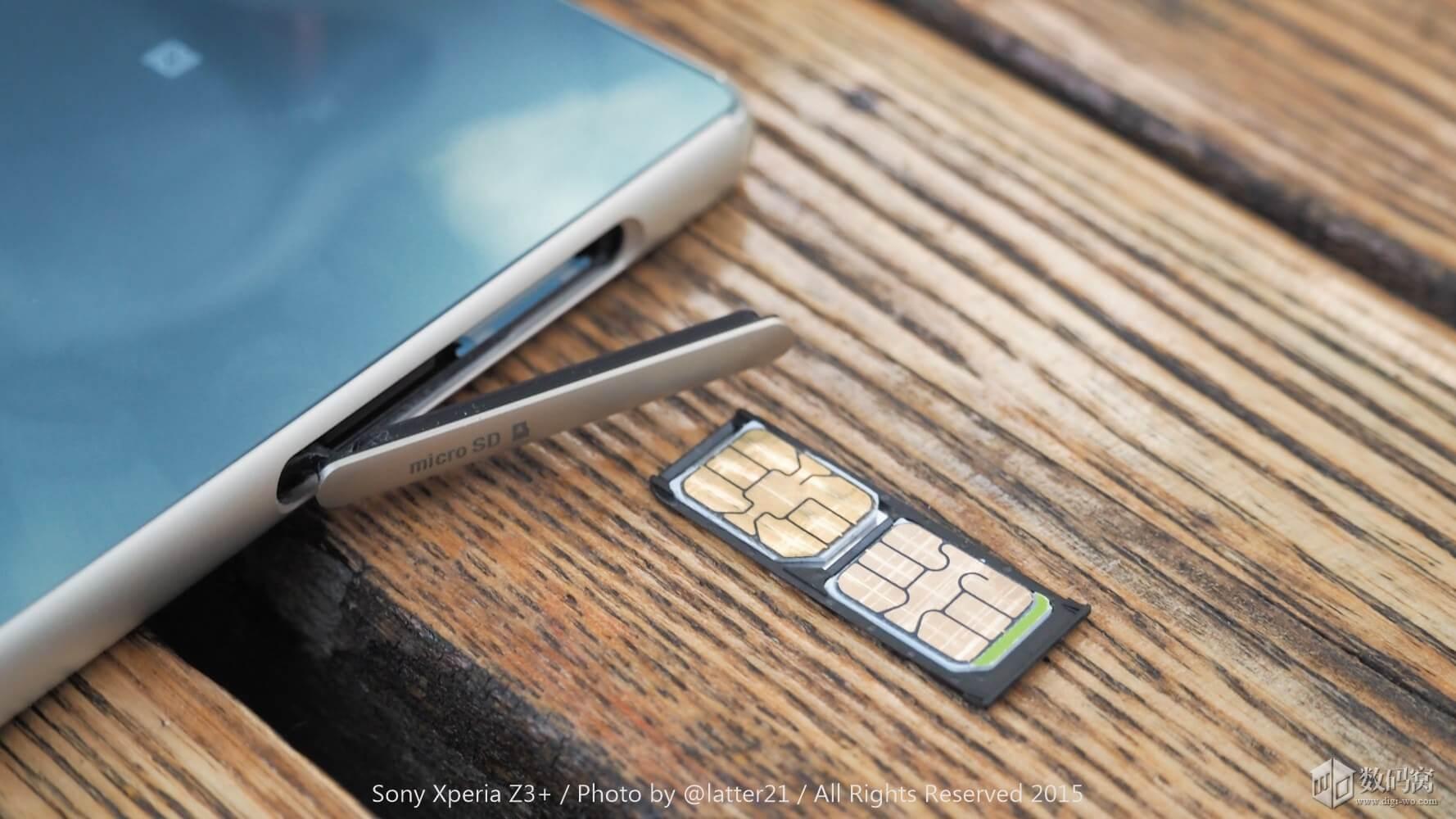 Dual SIM Xperia Z3+