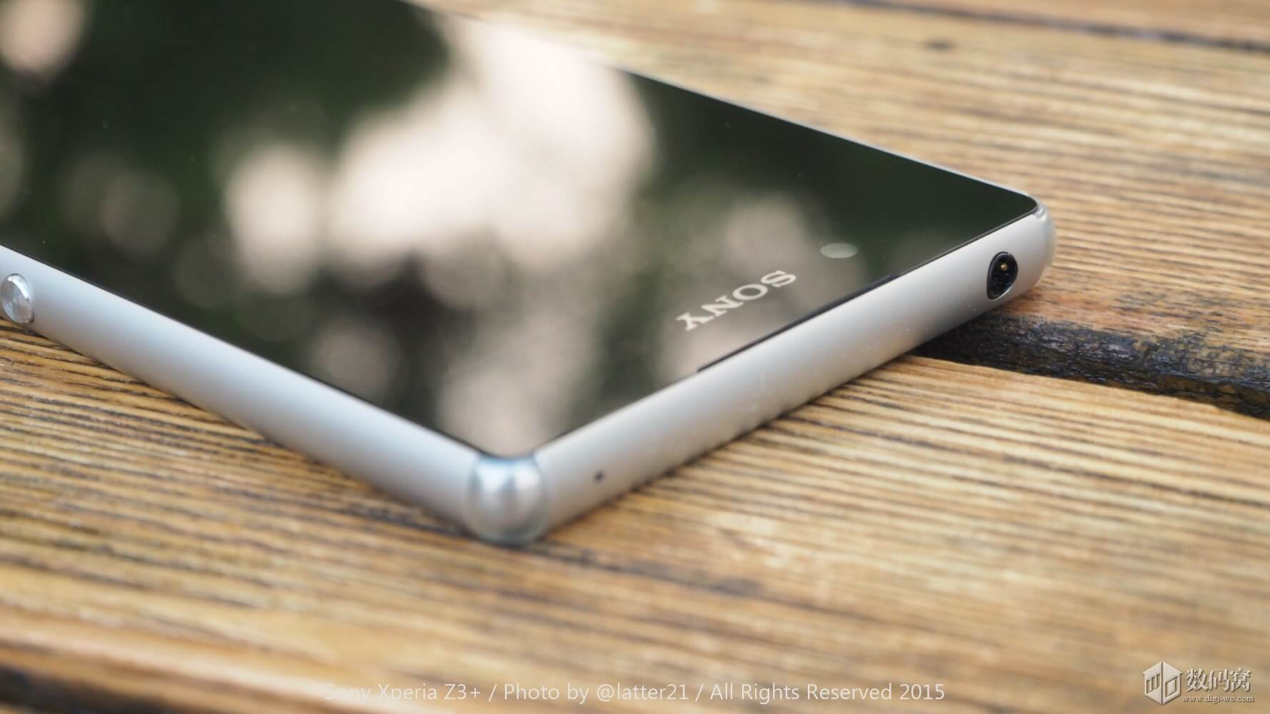 Xperia Z3+ 3.5 mm headphone jack