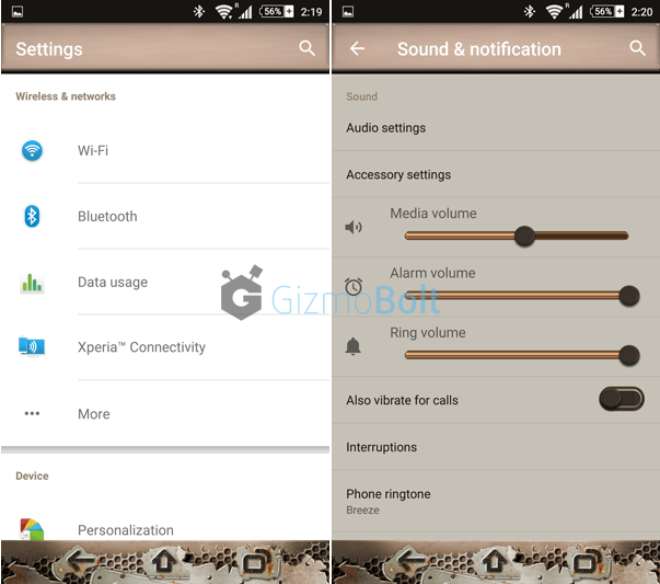 Xperia Mad Max Lollipop Theme