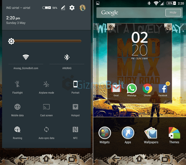 Xperia Mad Max Theme Apk