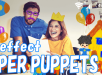 Paper puppets AR Effect Theme