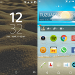 Try Xperia Lollipop Beach & PlayStation Theme