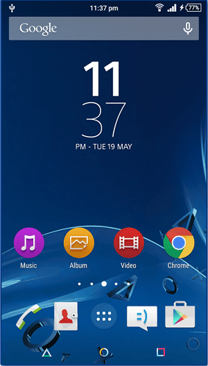Xperia Lollipop PlayStation Theme