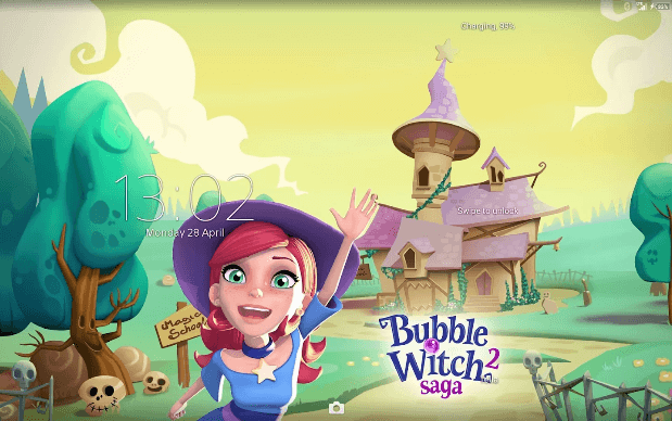Xperia Bubble Witch 2 Theme