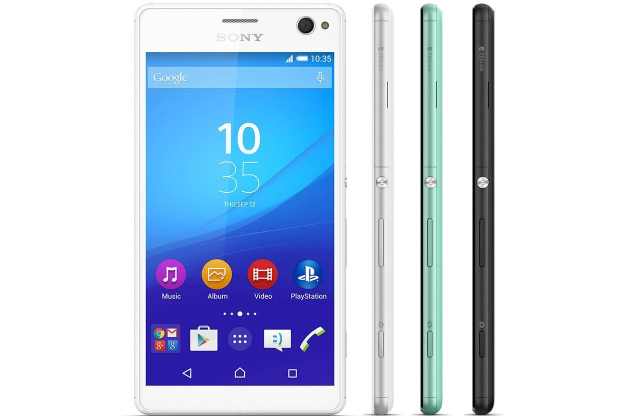 Xperia C4 Selfie smartphone launched