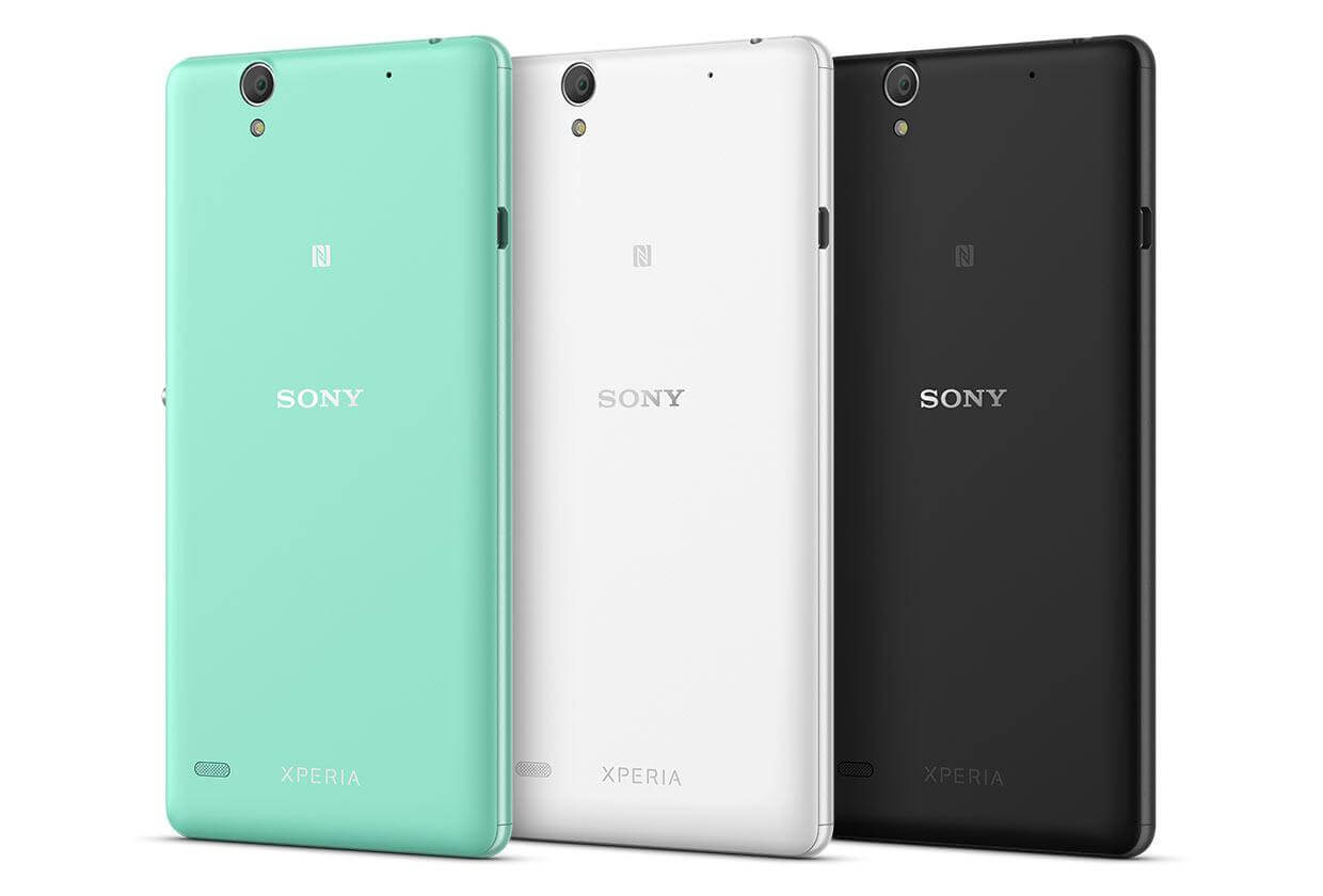 Xperia C4 Launched in 3 colors