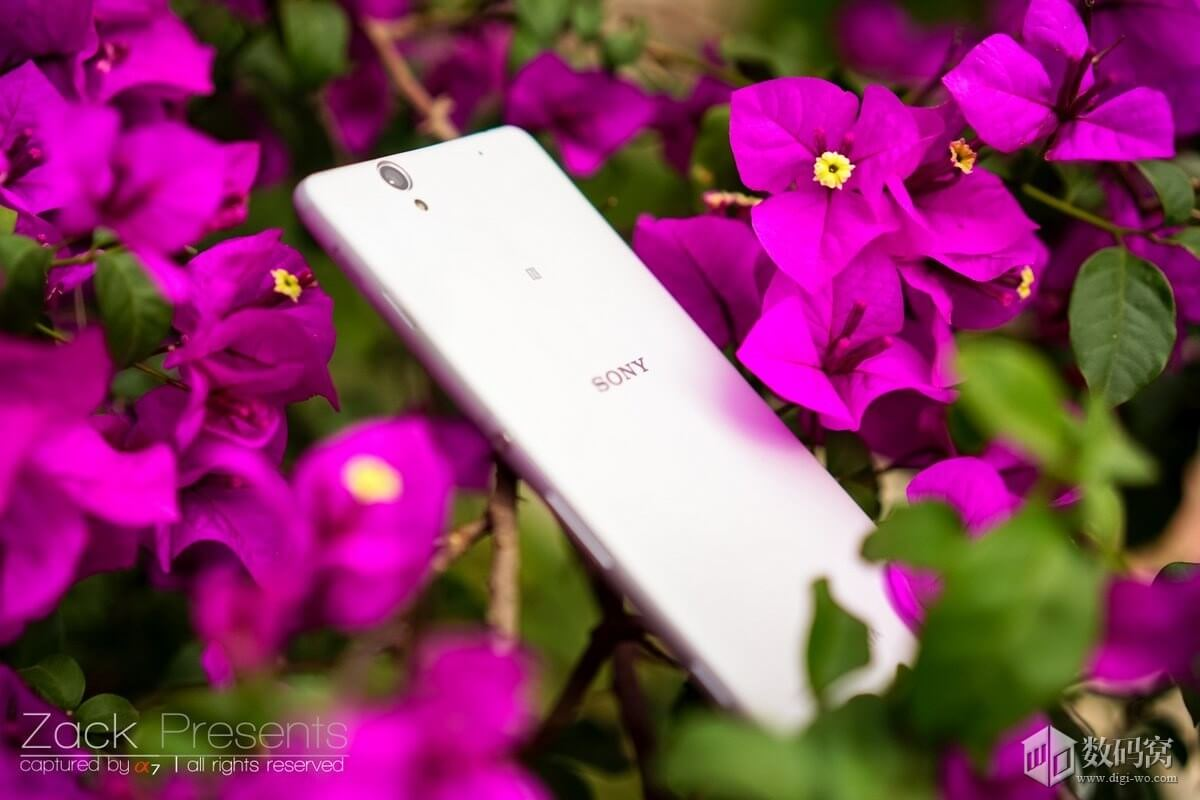 White Xperia C4 Hands on
