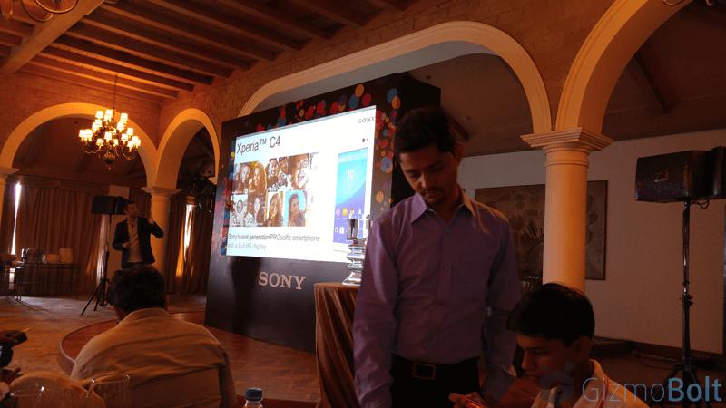 Xperia C4 Dual E5363 Press Event in India