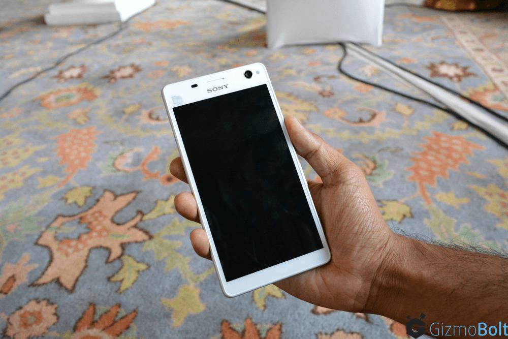 White Xperia C4 Dual Pics