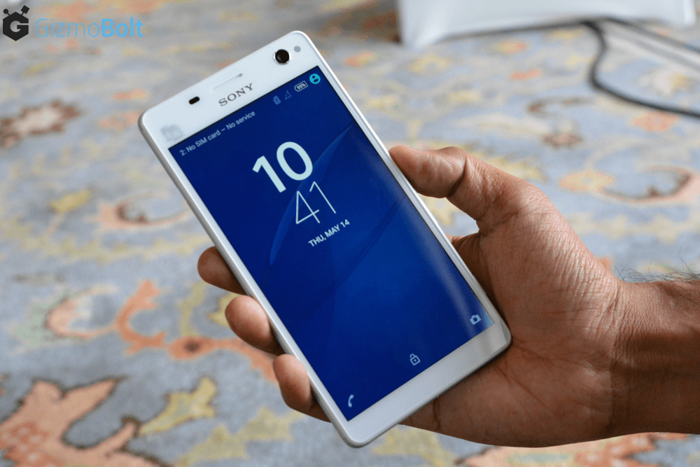 Xperia C4 Dual Lock Screen - Lollipop Firmware