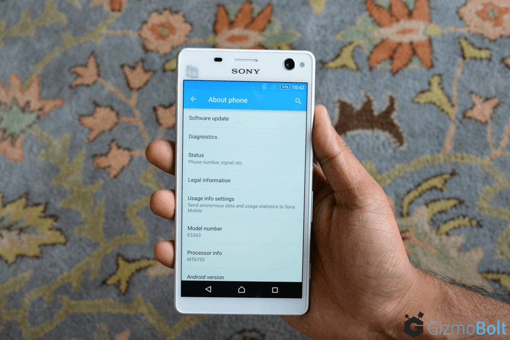 Xperia C4 Dual E5363 About Phone Info