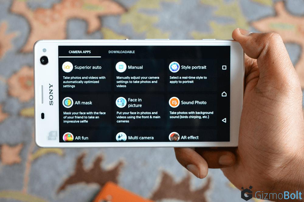 Xperia C4 Dual Camera Apps