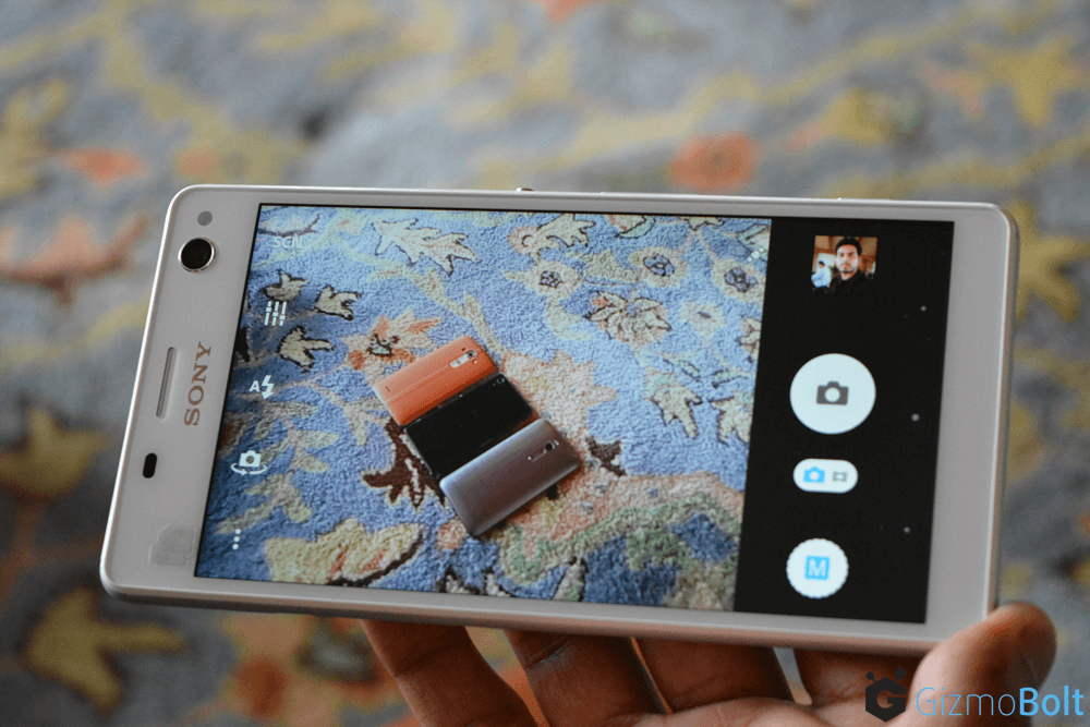 Xperia C4 Dual Camera View Finder