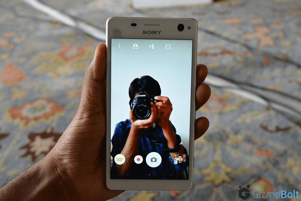 Xperia C4 Dual Selfie 5 P front Camera