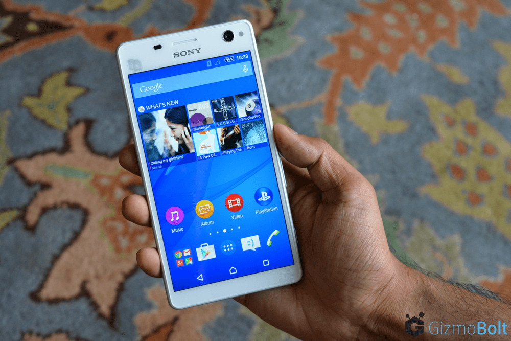 White Xperia C4 Dual E5363 Hands On