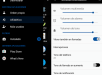 Xperia Black Elegant Blue Theme