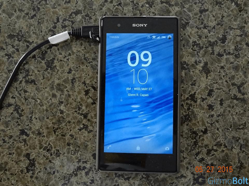 Xperia Z1s 14.5.B.0.236 Lockscreen