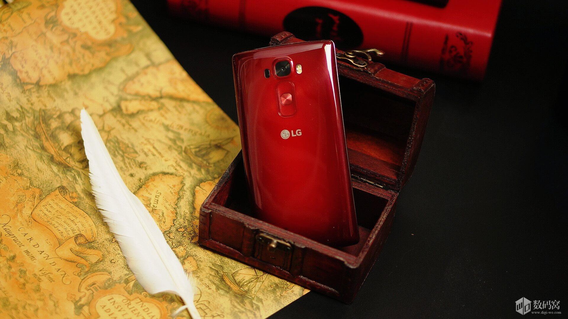 Red LG G Flex2 Curve pics