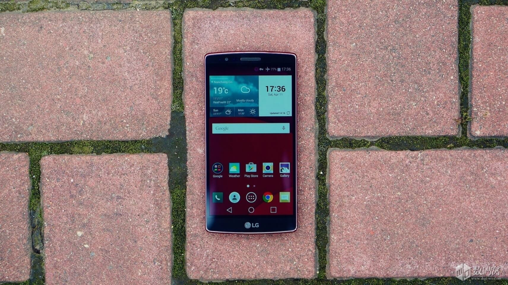 Red LG G Flex2 Hands on review